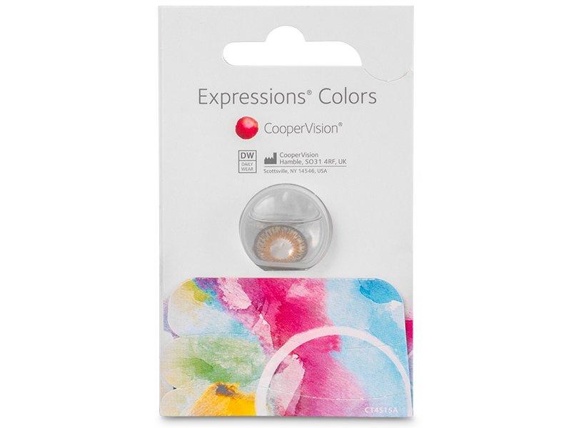 Expressions Colors Hazel - nedioptrické (1 šošovka) - Expressions Colors Hazel - nedioptrické (1 šošovka)