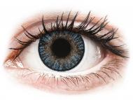 Mesačné kontaktné šošovky - FreshLook ColorBlends Blue - dioptrické (2 šošovky)