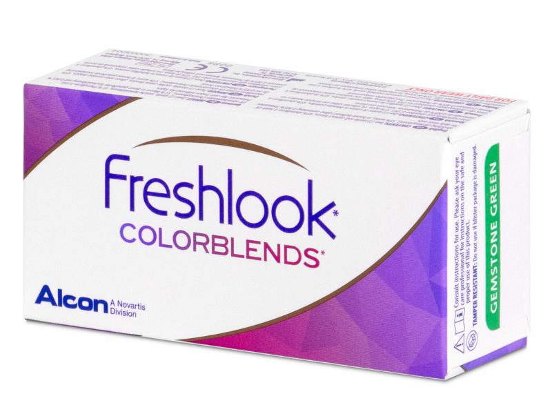 FreshLook ColorBlends Brilliant Blue - dioptrické (2 šošovky) - FreshLook ColorBlends Brilliant Blue - dioptrické (2 šošovky)
