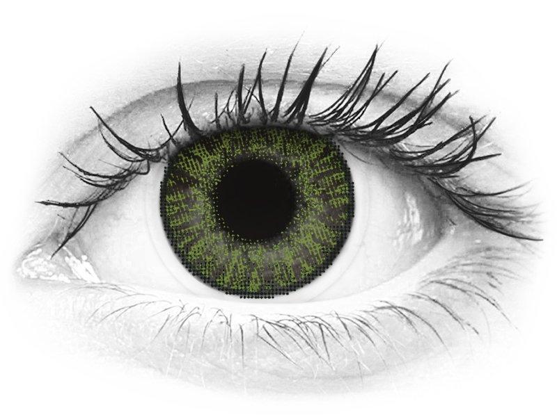 FreshLook ColorBlends Green - nedioptrické (2 šošovky) - FreshLook ColorBlends Green - nedioptrické (2 šošovky)