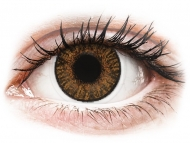 Mesačné kontaktné šošovky - FreshLook ColorBlends Honey - nedioptrické (2 šošovky)