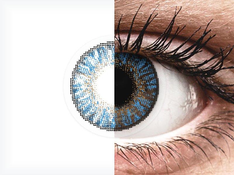 FreshLook ColorBlends True Sapphire - dioptrické (2 šošovky) - FreshLook ColorBlends True Sapphire - dioptrické (2 šošovky)