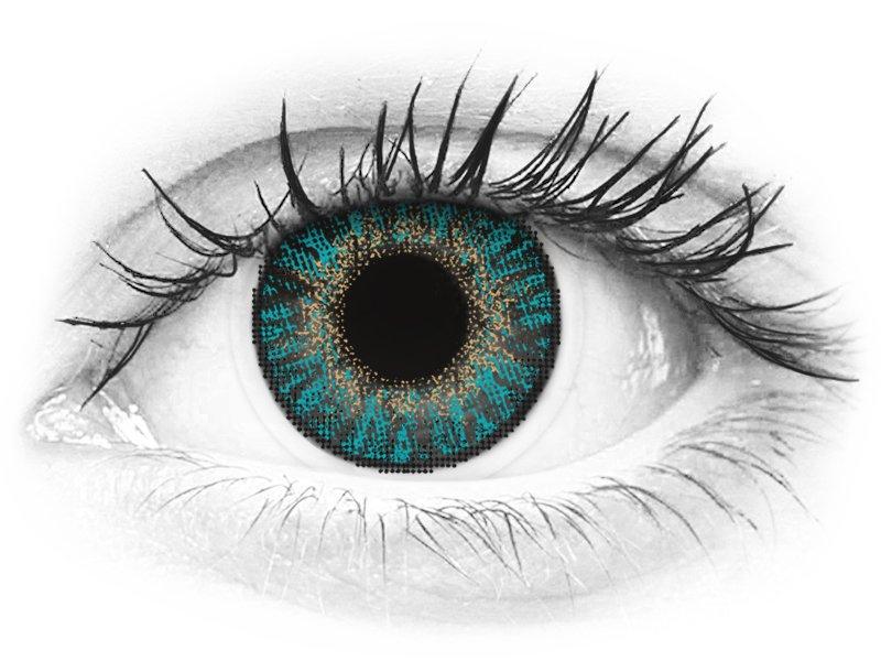 FreshLook ColorBlends Turquoise - dioptrické (2 šošovky) - FreshLook ColorBlends Turquoise - dioptrické (2 šošovky)