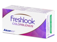 FreshLook ColorBlends Turquoise - nedioptrické (2 šošovky)