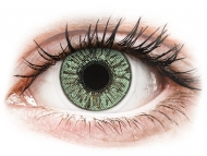 Kontaktné šošovky Alcon - FreshLook Colors Green - dioptrické (2 šošovky)