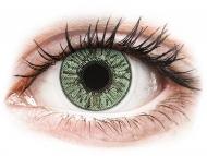 Mesačné kontaktné šošovky - FreshLook Colors Green  - nedioptrické (2 šošovky)