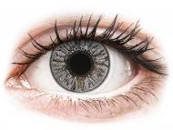 Mesačné kontaktné šošovky - FreshLook Colors Misty Gray - dioptrické (2 šošovky)