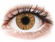 Mesačné kontaktné šošovky - FreshLook Colors Hazel - dioptrické (2 šošovky)