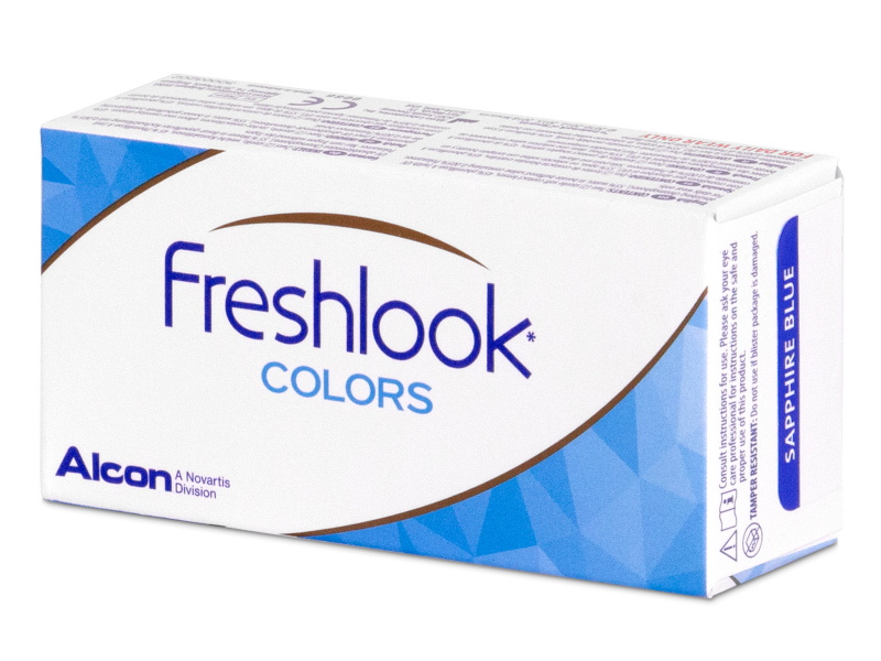 FreshLook Colors Sapphire Blue - dioptrické (2 šošovky) - FreshLook Colors Sapphire Blue - dioptrické (2 šošovky)
