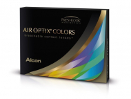 Air Optix Colors - Brilliant Blue - nedioptrické (2 šošovky)
