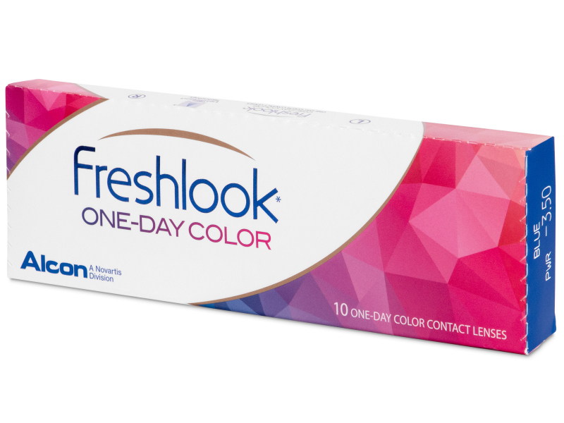 FreshLook One Day Color Blue - dioptrické (10 šošoviek) - FreshLook One Day Color Blue - dioptrické (10 šošoviek)