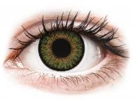 Kontaktné šošovky Alcon - FreshLook One Day Color Green - nedioptrické (10 šošoviek)
