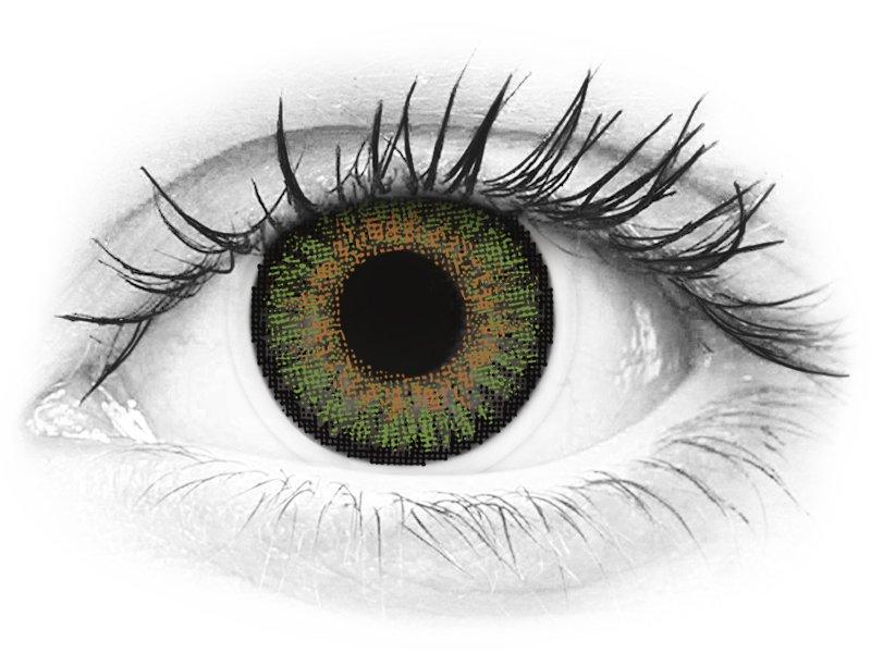 FreshLook One Day Color Green - nedioptrické (10 šošoviek) - FreshLook One Day Color Green - nedioptrické (10 šošoviek)