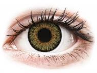 Zelené kontaktné šošovky - dioptrické - FreshLook One Day Color Pure Hazel - dioptrické (10 šošoviek)