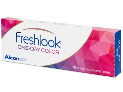 FreshLook One Day Color Pure Hazel - dioptrické (10 šošoviek)