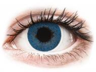 Mesačné kontaktné šošovky - FreshLook Dimensions Pacific Blue - dioptrické (6 šošoviek)