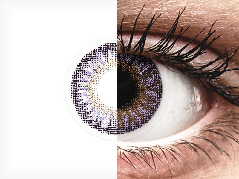 TopVue Color - Violet - nedioptrické (2 šošovky) - TopVue Color - Violet - nedioptrické (2 šošovky)