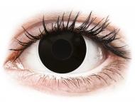 Kontaktné šošovky Maxvue Vision - ColourVUE Crazy Lens - Blackout - jednodenné nedioptrické (2 šošovky)