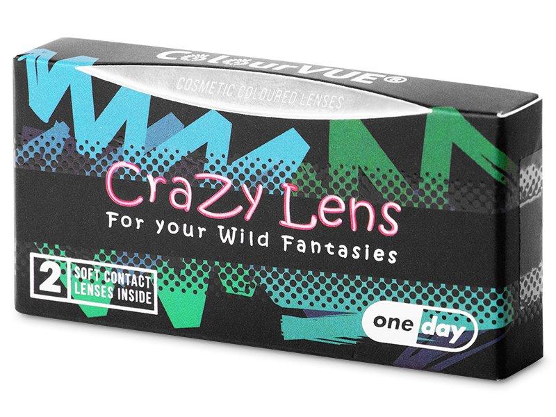 ColourVUE Crazy Lens - Red Devil - jednodenné nedioptrické (2 šošovky) - ColourVUE Crazy Lens - Red Devil - jednodenné nedioptrické (2 šošovky)