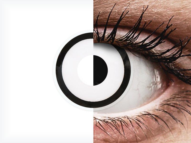 ColourVUE Crazy Lens - White Zombie - jednodenné nedioptrické (2 šošovky) - ColourVUE Crazy Lens - White Zombie - jednodenné nedioptrické (2 šošovky)