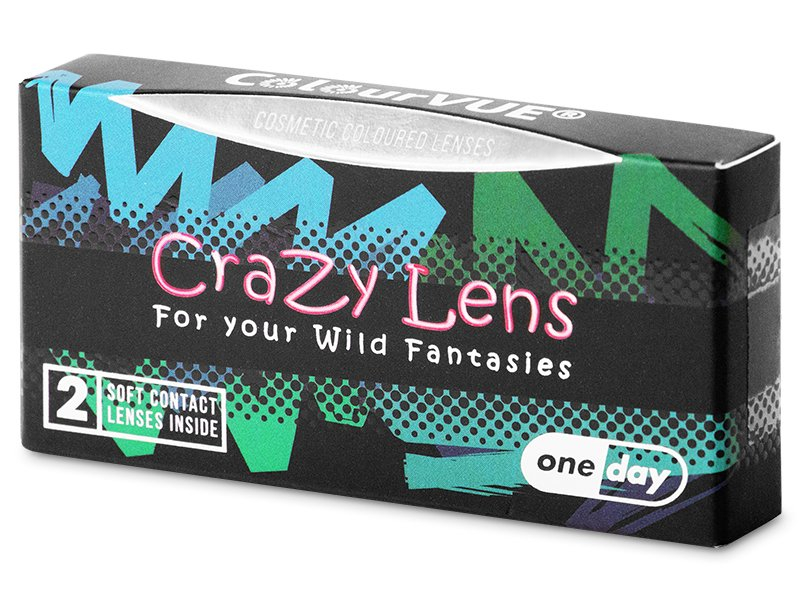 ColourVUE Crazy Lens - Whiteout - jednodenné nedioptrické (2 šošovky) - ColourVUE Crazy Lens - Whiteout - jednodenné nedioptrické (2 šošovky)