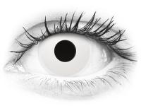 ColourVUE Crazy Lens - Whiteout - jednodenné nedioptrické (2 šošovky)