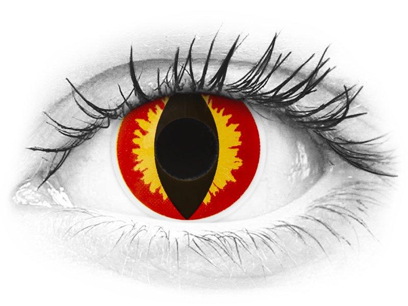 ColourVUE Crazy Lens - Dragon Eyes - jednodenné nedioptrické (2 šošovky) - ColourVUE Crazy Lens - Dragon Eyes - jednodenné nedioptrické (2 šošovky)