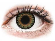 Kontaktné šošovky Maxvue Vision - ColourVue One Day TruBlends Green - dioptrické (10 šošoviek)