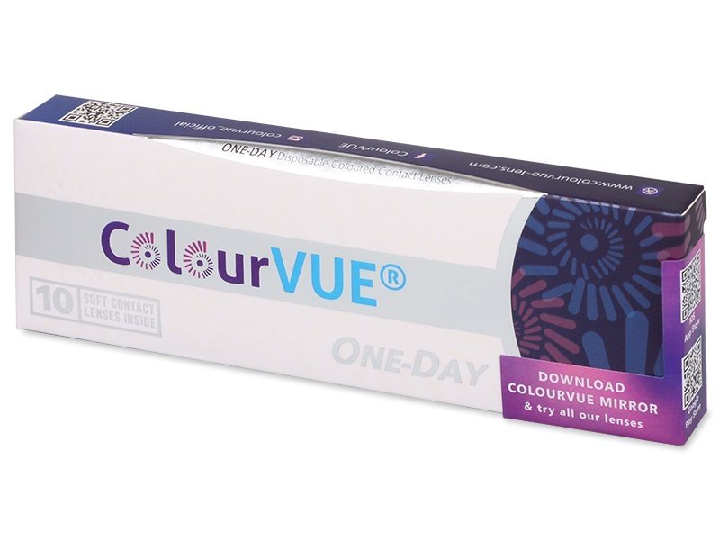 ColourVue One Day TruBlends Blue - dioptrické (10 šošoviek) - ColourVue One Day TruBlends Blue - dioptrické (10 šošoviek)