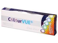 ColourVue One Day TruBlends Rainbow 2 - nedioptrické (10 šošoviek)