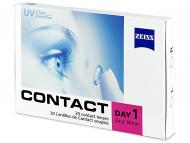 Jednodenné kontaktné šošovky - Carl Zeiss Contact Day 1 (30 šošoviek)
