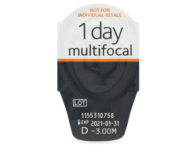Proclear 1 Day multifocal (30šošoviek) - Vzhľad blistra so šošovkou