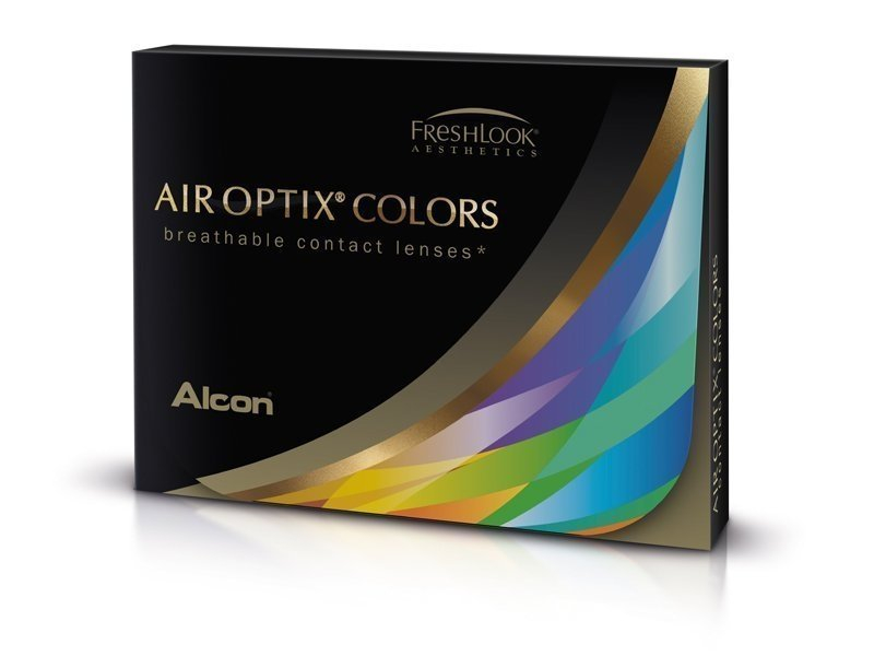 Air Optix Colors - Turquoise - dioptrické (2šošovky) - Air Optix Colors - Turquoise - dioptrické (2šošovky)
