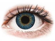 Modré kontaktné šošovky - nedioptrické - Air Optix Colors - True Sapphire - nedioptrické (2 šošovky)