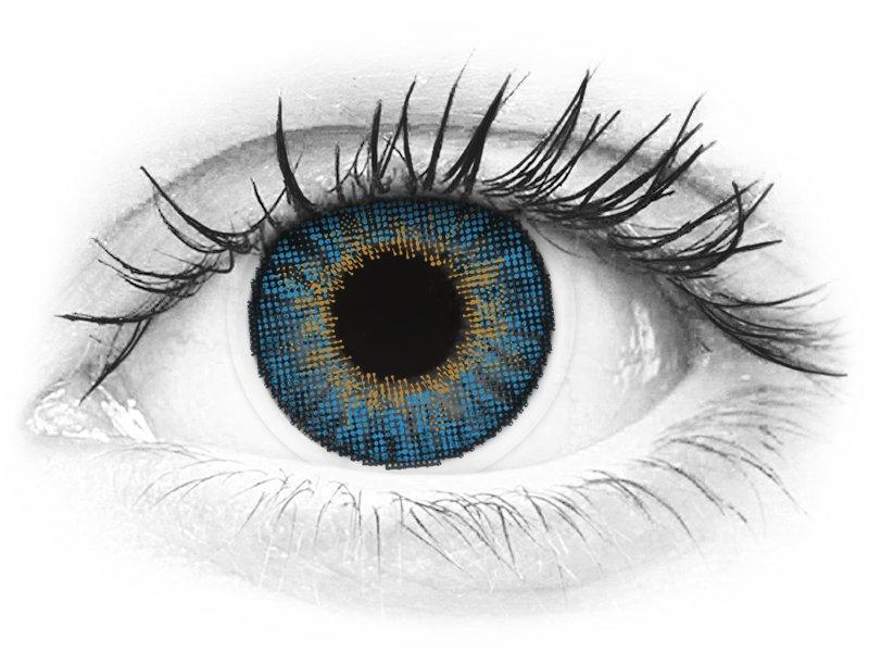Air Optix Colors - True Sapphire - nedioptrické (2 šošovky) - Air Optix Colors - True Sapphire - nedioptrické (2 šošovky)