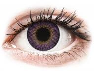 Nedioptrické farebné šošovky - Air Optix Colors - Amethyst - nedioptrické (2 šošovky)