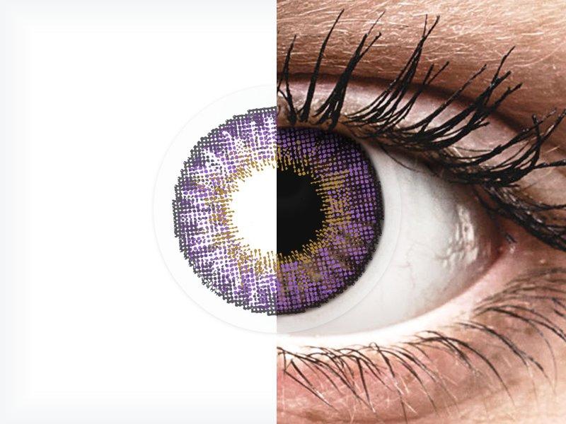 Air Optix Colors - Amethyst - dioptrické (2šošovky) - Air Optix Colors - Amethyst - dioptrické (2šošovky)