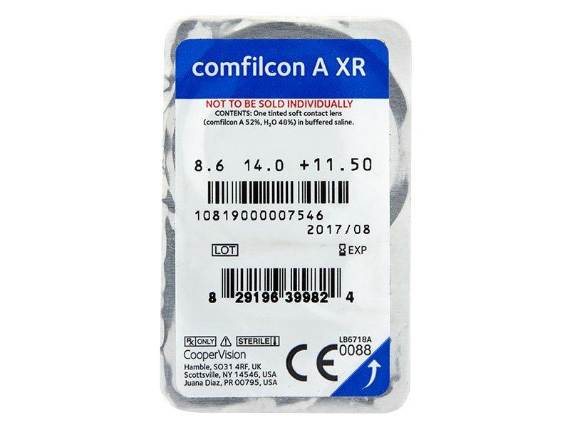 Biofinity XR (3šošovky) - Vzhľad blistra so šošovkou
