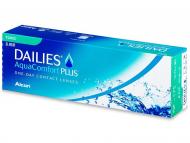 Jednodenné kontaktné šošovky - Dailies AquaComfort Plus Toric (30šošoviek)