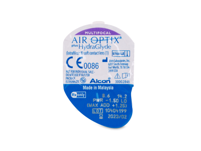 Air Optix plus HydraGlyde Multifocal (3 šošovky)
