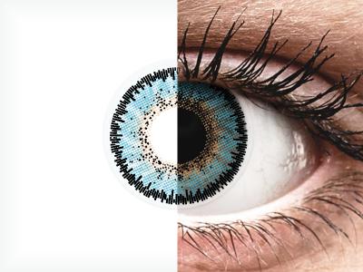 ColourVUE 3 Tones Aqua - nedioptrické (2šošovky)