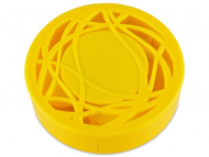 Puzdra a kazetky - Kazeta s ornamentom - žltá