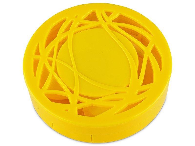 Kazeta s ornamentom - žltá  - Kazeta s ornamentom - žltá
