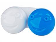 Puzdra a kazetky - Puzdro na šošovky 3D - modré