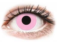 Nedioptrické farebné šošovky - ColourVUE Crazy Lens - Barbie Pink - nedioptrické (2čočky)