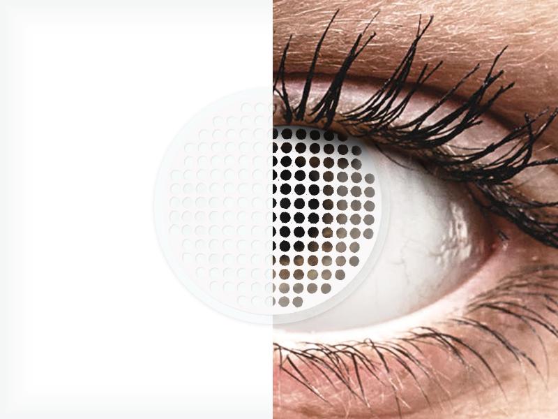 ColourVUE Crazy Lens - White Screen - nedioptrické (2čoček) - ColourVUE Crazy Lens - White Screen - nedioptrické (2čoček)