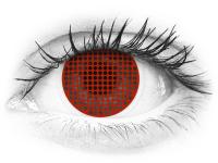 ColourVUE Crazy Lens - Red Screen - nedioptrické (2čočky)