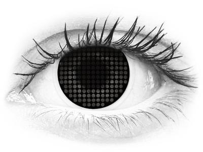 ColourVUE Crazy Lens - Black Screen - nedioptrické (2čočky)