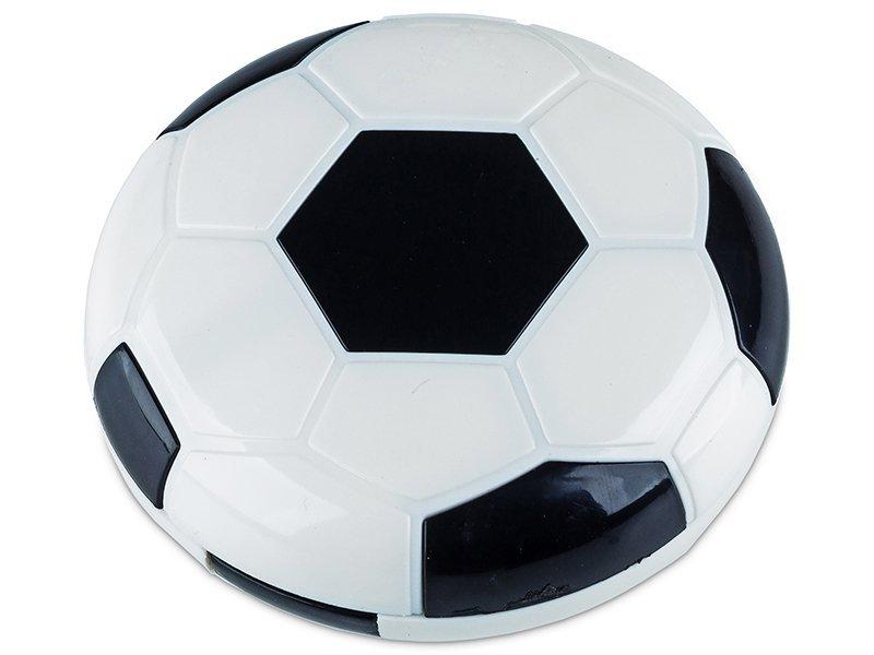 Kazeta Futbalová lopta - čierna  - Kazeta Futbalová lopta - čierna