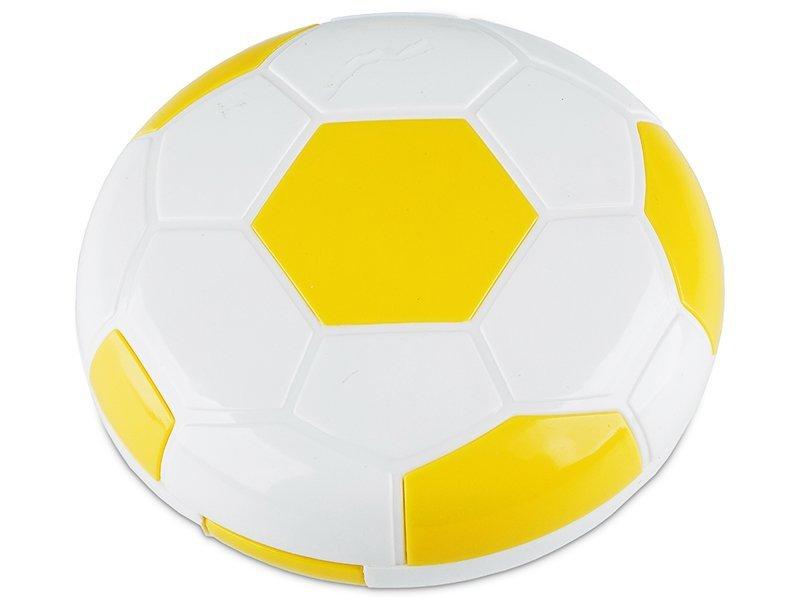 Kazeta Futbalová lopta - žltá